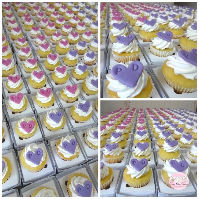 cupcakes lilas
